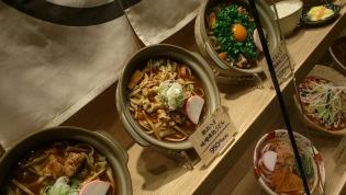 横浜なかや大関本店豚肉入り味噌煮込うどん3