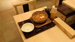 横浜なかや大関本店豚肉入り味噌煮込うどん5