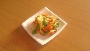 茸野菜炒め