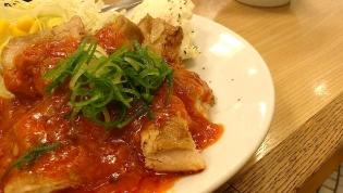 松屋、鶏のチリソース定食7