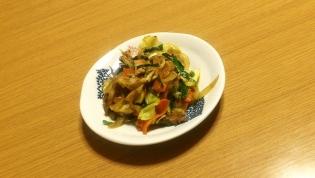 肉野菜炒め。