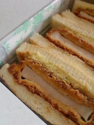 浅草ヨシカミ、ロースカツサンド3