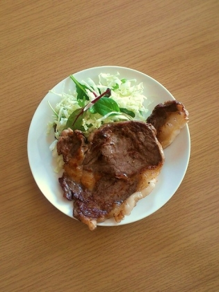 園牛ステーキ3