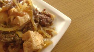牛丼(豆腐)4