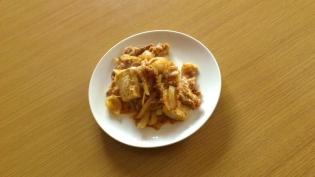 豚豆腐すきやき丼