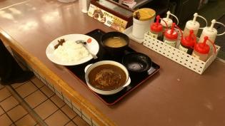 松屋、煮込みハンバーグカレー2