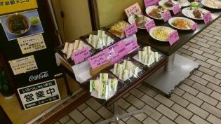花壇野菜サンド、ホットコーヒー2