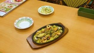 サイゼリヤ、地中海ピラフのオーブン焼き(パエリア風)6
