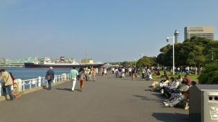 横浜山下公園、アイスクリーム5