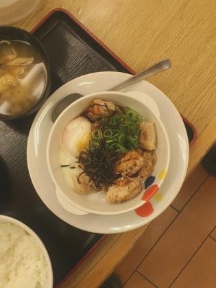 松屋大和てりたまチキン定食4