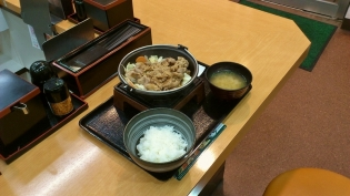 吉野家牛バラ野菜(焼)(並)3