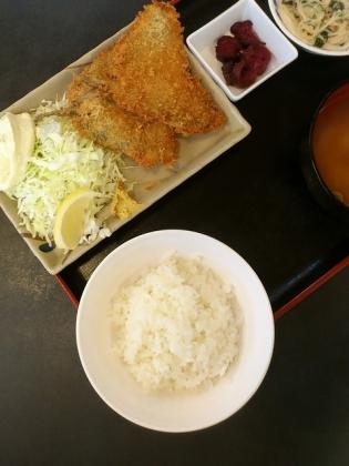 和食いちばんアジフライ定食3