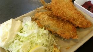 和食いちばんアジフライ定食6