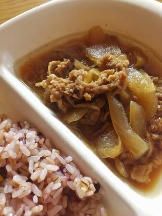 7&i特製タレで煮込んだ牛丼の具1