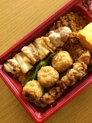 鶏麻炭火焼鳥弁当6