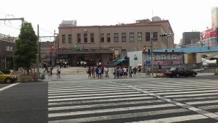 上野クラウンエース、唐揚げカレー2