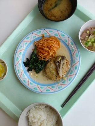 OWLでA定食(豆腐ハンバーグ)12