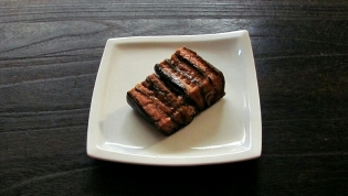 箱舘番屋、紅鮭昆布炊き3