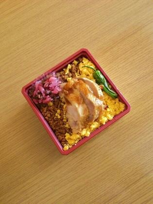 鳥麻、鶏そぼろ弁当3