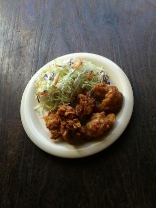 ハマケイ3個で500円若鶏の唐揚8