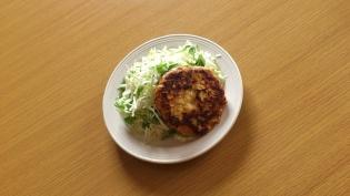 鶏ムネひき肉ハンバーグ3