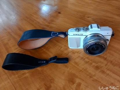 ハンドストラップカメラ