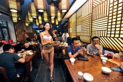 瀋陽のお粥レストラン