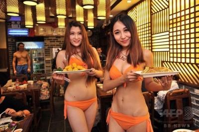 瀋陽のお粥レストラン2