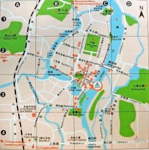 桂林市内図
