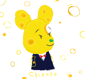 animal crooshing cheese