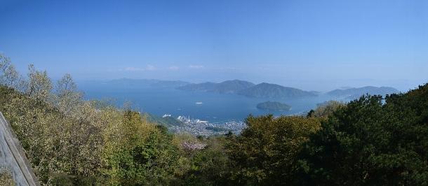 かぶと岩からの眺望