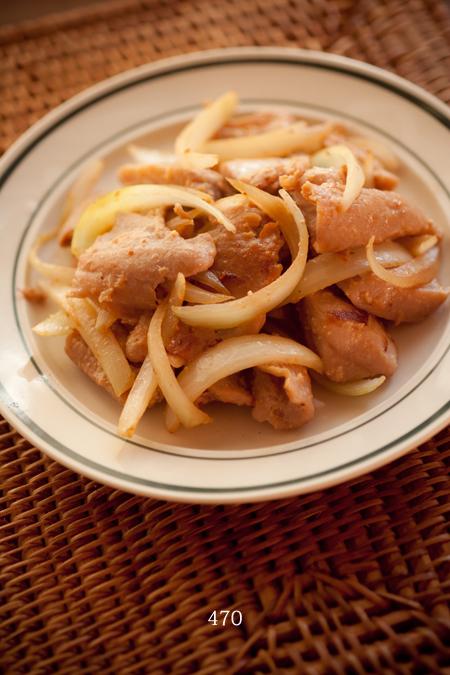 鮪と玉ねぎの炒め物3