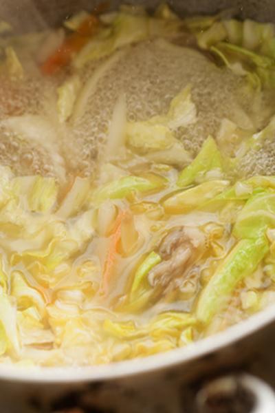 野菜スープ5