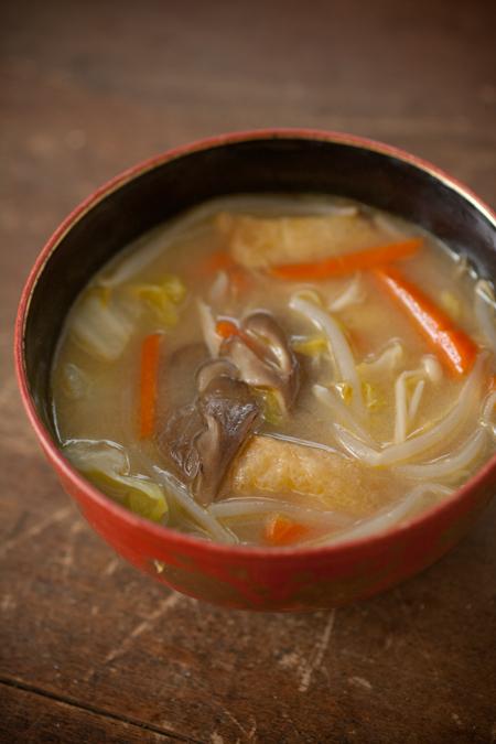 けんちん味噌汁4