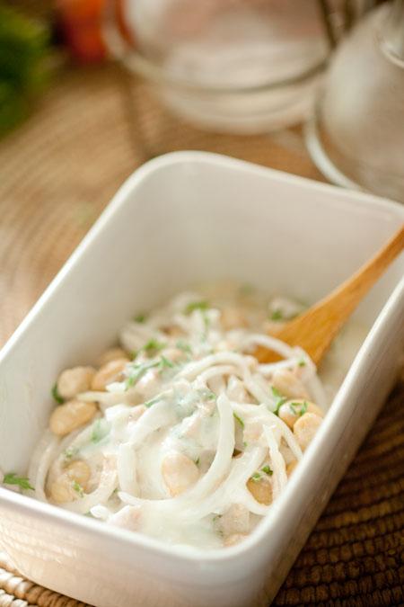 ツナと大豆のサラダ2