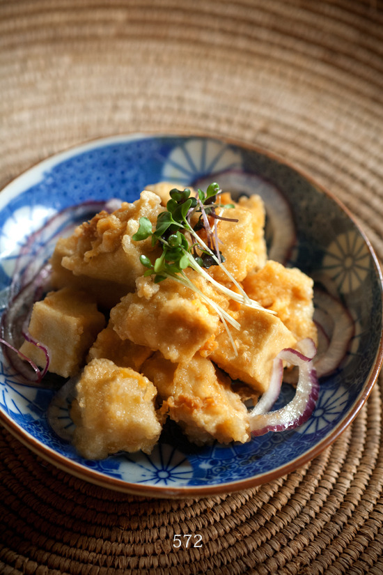 揚げ出し高野豆腐