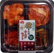 黄さんの手造りキムチ 4種の贅沢キムチセット