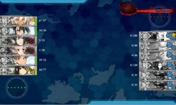 4-5-M ボス戦夜戦2戦目終了