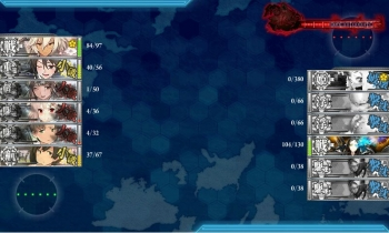4-5-M ボス戦4戦目夜戦終了