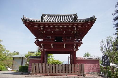 0061當麻寺奥院楼門(正門)