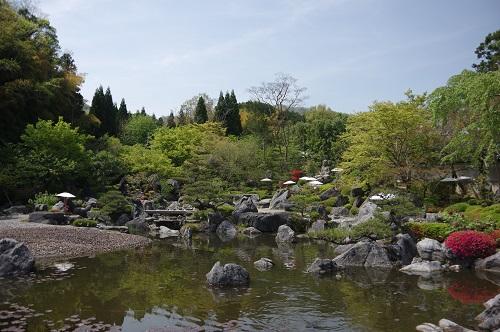0073當麻寺奥院浄土庭園
