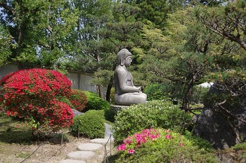 0068阿弥陀仏石像