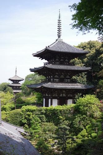 0134當麻寺西南院みはらし台から撮影
