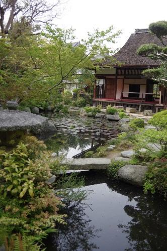0196當麻寺中之坊庭園