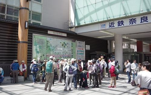 0001近鉄奈良駅
