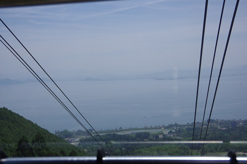 0022ロープウェイから琵琶湖