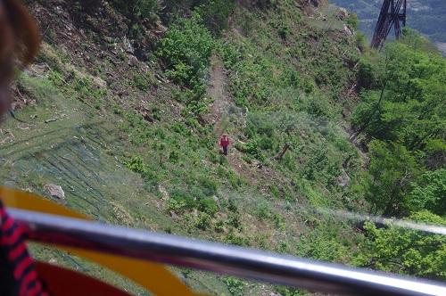 0025琵琶湖バレイ トレッキング