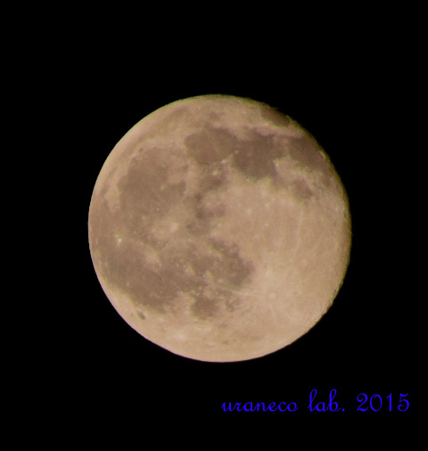 5月5日十六夜の月
