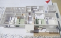 岩切の家ラフ模型1階