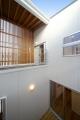 福島の家完成中庭
